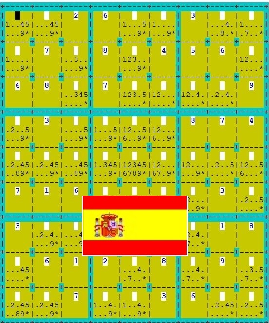 SUDOKU Demo in Spanish